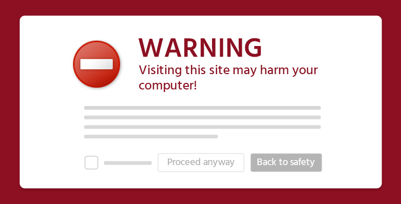 how to fix this site may harm your computer